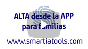Alta APP Smartia Familias