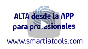 Alta APP Smartia Profesionales